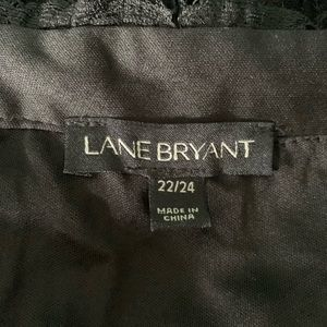 Lane Bryant Tops - Lane Bryant Off Shoulder Lace Top Size 22/24